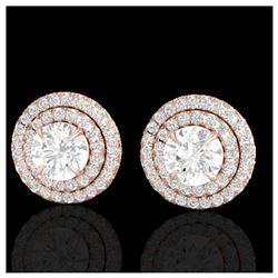 28 ctw Citrine & VS/SI Diamond Eternity Necklace 10K Yellow Gold