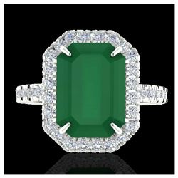 1.33 ctw SI Fancy Blue Diamond Halo Ring 10K Rose Gold