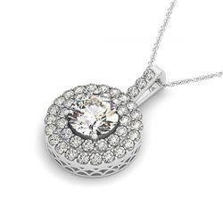 4.50 ctw VS/SI Diamond Necklace 14K 2-Tone Gold