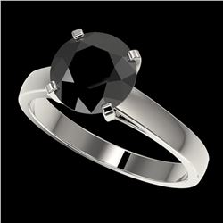 1 ctw VS/SI Diamond Solitaire Necklace Halo 14K Rose Gold