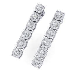 1.51 ctw VS/SI Diamond Ring 18K Rose Gold