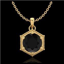 1 ctw VS/SI Cushion Cut Diamond Ring 10K Yellow Gold