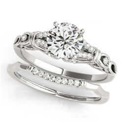 1.50 ctw VS/SI Diamond Ring 14K White Gold
