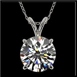 56 ctw Tanzanite Eternity Necklace 14K White Gold