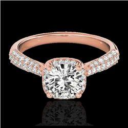 2 ctw H-SI/I Diamond Ring 10K White Gold