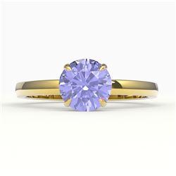 0.50 ctw VS/SI Cushion Cut Diamond Ring 10K Rose Gold