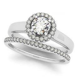 1.05 ctw H-SI/I Diamond Ring 10K Rose Gold