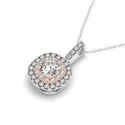1.25 ctw VS/SI Diamond Solitaire Ring 14K White Gold
