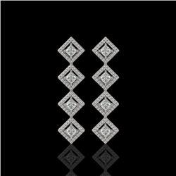 36 ctw Sky Blue Topaz & VS/SI Diamond Bracelet 14K Yellow Gold