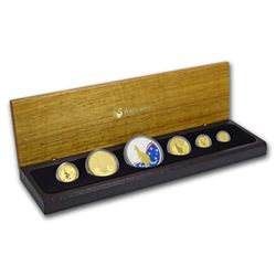 2009 Australia 6-Coin Gold & Silver Kangaroo Prestige Set BU