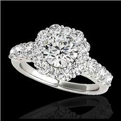 2.9 ctw SI/I Fancy Intense Yellow Diamond Ring 10K Rose Gold