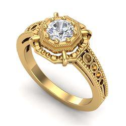 1.50 ctw VS/SI Diamond 2pc Wedding Set 14K Yellow Gold