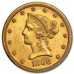 1888-O $10 Liberty Gold Eagle AU