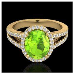 1.20 ctw VS Black Diamond Solitaire Ring 10K Rose Gold