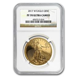 2017-W 1 oz Proof Gold American Eagle PF-70 NGC