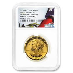 2017-W High Relief American Liberty Gold PF-69 NGC