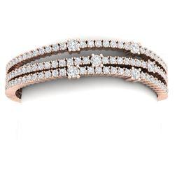 7.38 ctw Tanzanite & Diamond Ring 14K White Gold