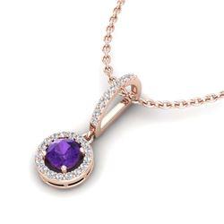 1.95 ctw Canary Citrine & Diamond Necklace 14K White Gold