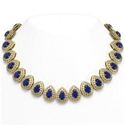 9.5 ctw Opal & Diamond Halo Bracelet Yellow 10K Yellow Gold