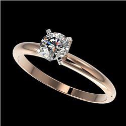 1.03 ctw H-SI/I Diamond Ring 10K Yellow Gold