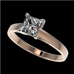 3.50 ctw Black & White Diamond Heart Necklace 14K White Gold
