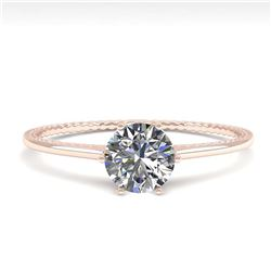 1.07 ctw VS/SI Diamond 2pc Wedding Set Halo 14K White Gold