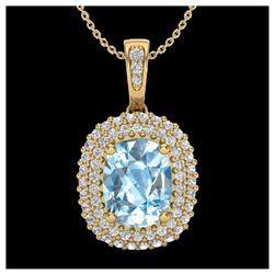 1.13 ctw VS/SI Diamond Solitaire Art Deco Ring 18K Yellow Gold