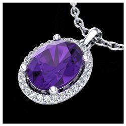 0.73 ctw H-SI/I Diamond Ring 10K White Gold