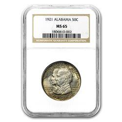 1921 Alabama Centennial Half Dollar MS-65 NGC