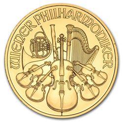 2013 Austria 1 oz Gold Philharmonic BU