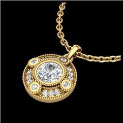 2.25 ctw Amethyst & VS/SI Diamond Ring 10K Yellow Gold