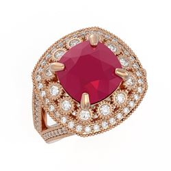 1.55 ctw Intense Blue Diamond Necklace 10K White Gold
