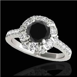 1.25 ctw H-SI/I Diamond Solitaire Ring 10K Yellow Gold