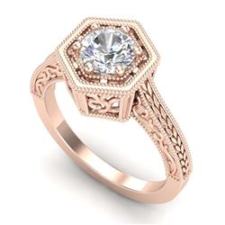 15.47 ctw Garnet & VS/SI Diamond Tennis Earrings 10K White Gold