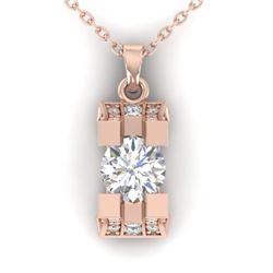 1.50 ctw VS/SI Diamond Solitaire Ring 18K White Gold