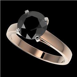 1 ctw VS/SI Diamond Solitaire Ring Halo 18K White Gold