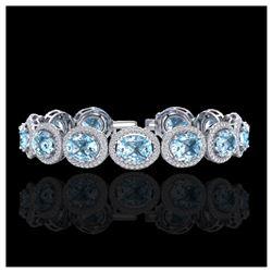 4 ctw Amethyst & VS/SI Diamond Ring 14K Rose Gold
