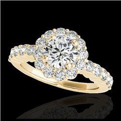 2.09 ctw Fancy Black Diamond Solitaire Ring 10K Rose Gold