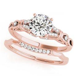 1.50 ctw VS/SI Diamond Ring 14K 2-Tone Gold