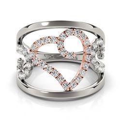 0.75 ctw VS/SI Diamond Solitaire Ring 14K Rose Gold