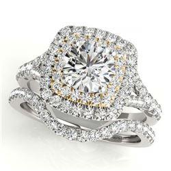 2.75 ctw Green Tourmaline & Diamond Ring 10K Yellow Gold