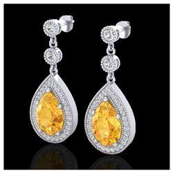 1.15 ctw SI Fancy Blue Diamond Ring 10K Rose Gold
