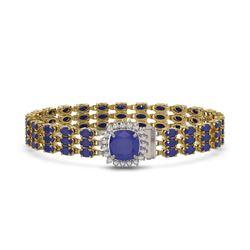 2.31 ctw VS/SI Diamond 2pc Wedding Set Halo 14K White Gold