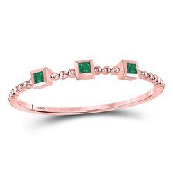 10k White Gold Diamond-accent Double Heart Pendant .01 Cttw