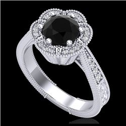 1.35 ctw H-SI/I Diamond Solitaire Ring 10K Rose Gold