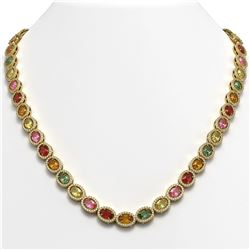 6 ctw Cushion Black Diamond Stud Earrings 14K Rose Gold