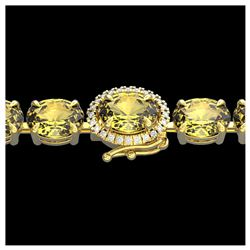 1.50 ctw SI Fancy Blue Diamond Ring 10K White Gold