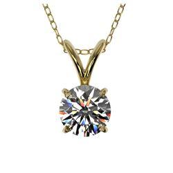 3 ctw Amethyst & VS/SI Diamond Necklace 14K Rose Gold