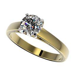 2.0 ctw Black Diamond Stud Martini Earrings 18K Rose Gold