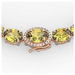 3 ctw Fancy Intense Blue Diamond Art Deco Ring 18K White Gold